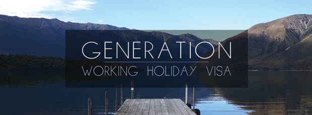 affiche du webdocumentaire Génération Working Holiday Visa